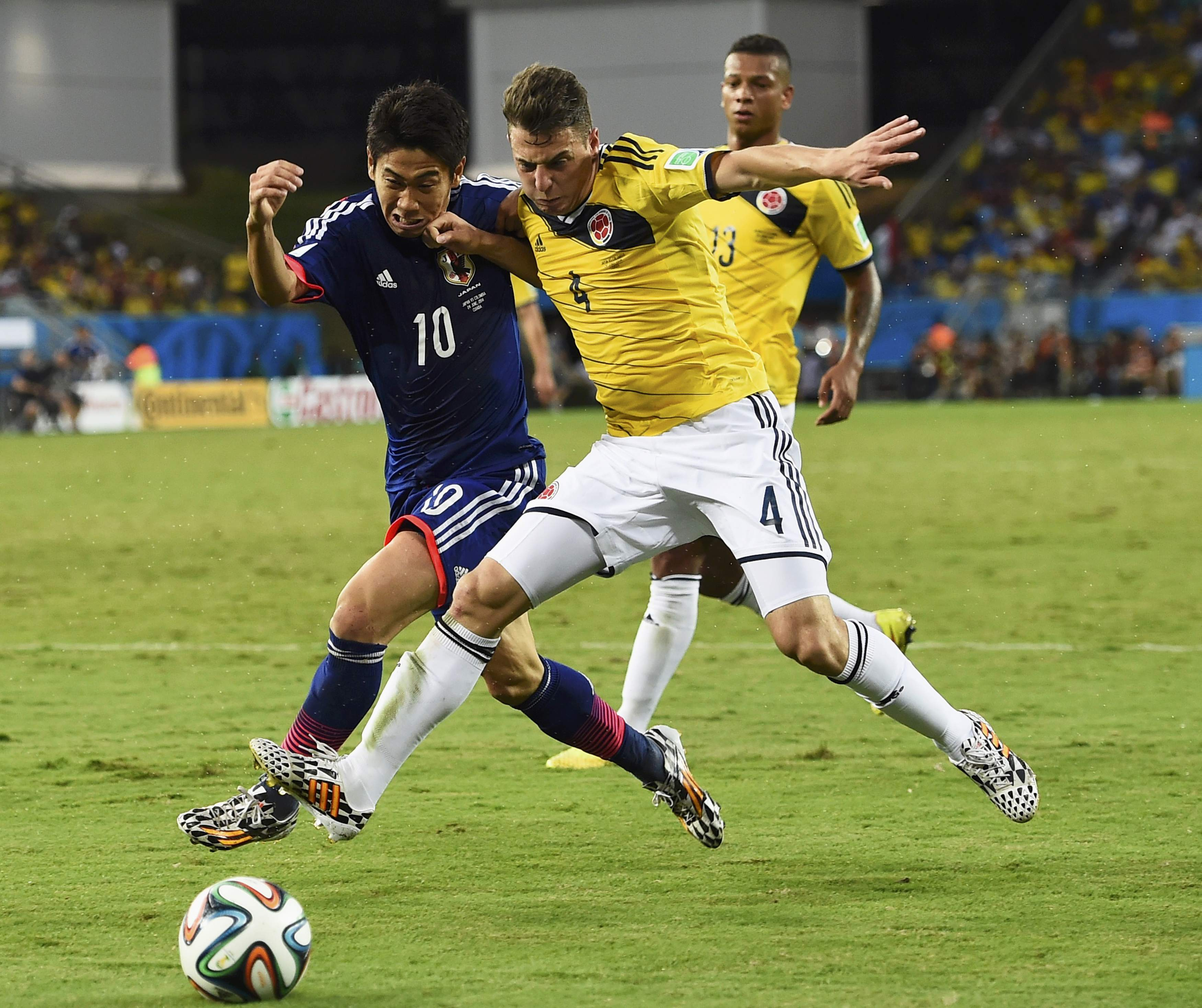Colombia eliminates Japan from World Cup   The Japan Times