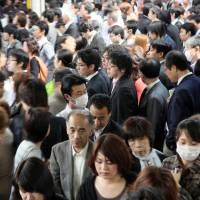 Population woes crowd Japan