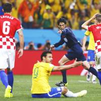 Japanese referee Nishimura in spotlight after controversial decisions in World Cup opener