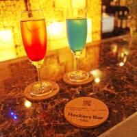 Downloadable drinks: Hackers Bar in Roppongi, Tokyo. | ANGELA ERIKA KUBO