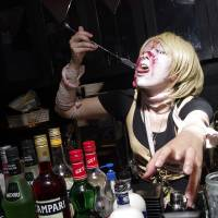 Drinking with the dead at Tokyo's zombie bar