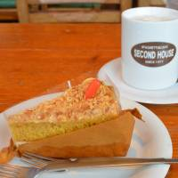 Carrot cake at Second House.   J.J. O'DONOGHUE