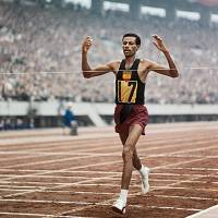 Huge difference: When Ethiopia's Abebe Bikila won the marathon at the 1964 Tokyo Olympics on Oct. 24, 1964, the high temperature in the capital was 16 C. The men's marathon will be run on Aug. 9 during the 2020 Games. The temperature on that date in 2013 was a record 34 C.