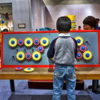 Art of science: Exhibits at Kids Plaza Osaka are designed to get the cogs whirring in children's heads, with dozens of hands-on experiences that include the chance to play newscaster in a TV studio. | JASON JENKINS