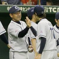 Long road ahead: Seibu Lions interim manager Norio Tanabe will have his work cut out for him this season. | KYODO
