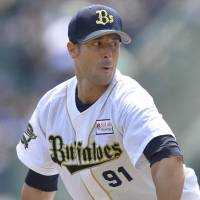 Buffaloes' Italian pitcher Maestri keeps track of Azzurri's World Cup progress