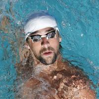 Phelps third in 200 IM at Santa Clara meet