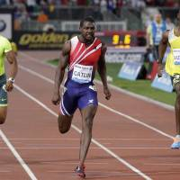 Gatlin takes Golden Gala 100 meters in 9.91