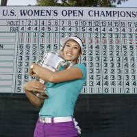 Wie captures U.S. Open title