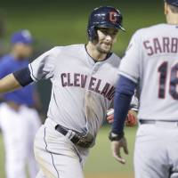 Chisenhall has 9 RBIs in rout