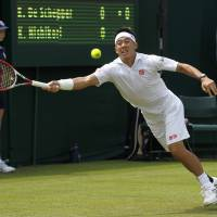Nishikori into second round
