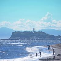 Ghostly footprints of the 'modern girl' along Kamakura's coastline