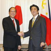 Abe, Aquino pledge stronger security ties