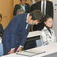 Ishihara visits Fukushima in latest apology over cash-for-storage gaffe
