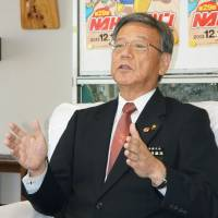Naha mayor, foe of Futenma plan, to run for governor