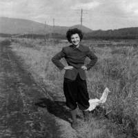 Peacemaker: Beate Sirota Gordon in Japan in 1946, during the Allied Occupation. | COURTESY OF THE GORDON FAMILY