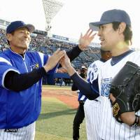 Rising tide: Shoichi Ino is having a much better season for Yokohama than he did last year. | KYODO