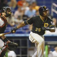 Polanco carries Pirates past Marlins in 13th