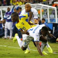 Valencia lifts Ecuador past Honduras