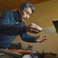 Artist strives to revive ukiyo-e glory