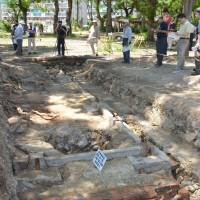 Archaeologists identify the foundations of the Bando POW camp in Naruto, Tokushima Prefecture, where German and Austrian soldiers were held during the war. Japan's role in WWI is seldom discussed, but the choices made at that time would reverberate later. | KYODO