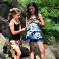 New York kids look for $2,000 in treasure hunt