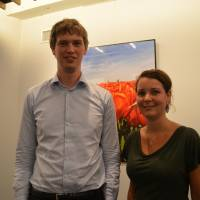 Luite Douma, 28, and Esther Stolp, 30, Economic affairs and policy advisors at Dutch Embassy (Dutch)