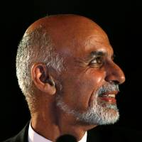 Afghan presidential front-runner alleges vote fraud