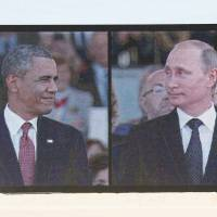Obama, Putin have another awkward encounter at D-Day ceremonies