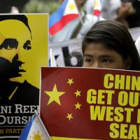 Philippines send protest to China over reef 'reclamation' project