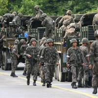 S. Korean soldier who allegedly killed comrades caught after suicide attempt