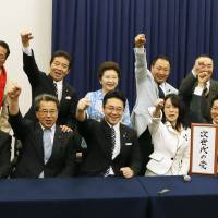 Ishihara's party name goes after youth vote