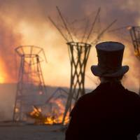 Israel desert ablaze with own version of Burning Man