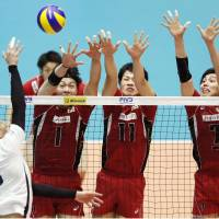 France makes short work of Japan in World League match