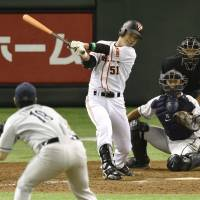 Yokogawa delivers game-winning single in 10th for Giants