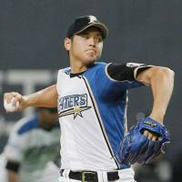 Otani hits 160 kph with fastball as Fighters beat Carp