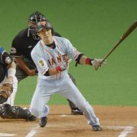 Giants overcome strong effort by Fighters star Otani
