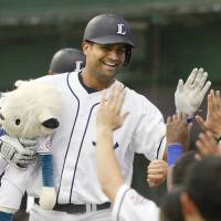 New Lions slugger Mejia relishes opportunity to play in NPB
