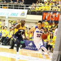 Longtime contributor: Niigata Albirex BB guard Yuichi Ikeda joined the team in 2006 after being selected in the second annual draft. | NORIKO AKAIKE