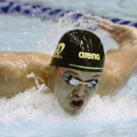 Koseki zooms to title in men's 200m breaststroke at Japan Open