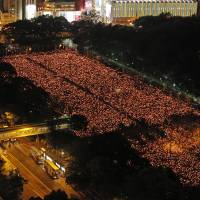 On Tiananmen anniversary, Hong Kong rallies, Beijing clamps down