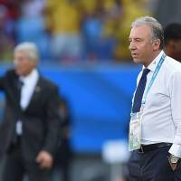 Pep talk: National team manager Alberto Zaccheroni admits he could have done better in managing the mental state of his players. | AFP-JIJI