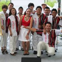 Ready to salsa?: Orquesta Yambe de Nagoya will perform three times a day on June 21 and 22 at the Little World Museum of Man, near Nagoya in Aichi Prefecture.