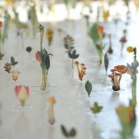 "A close-up photograph of ""Garden of the Appellation 2014"" by Eiji Watanabe 
