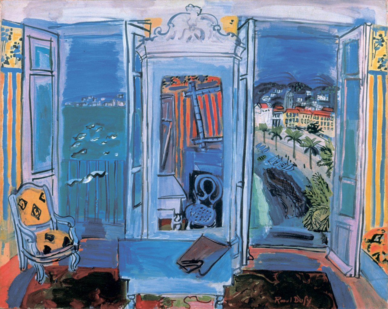 Raoul dufy 39 s true colors outshone many of his peers the for Fenetre ouverte