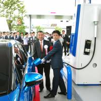 Japan gets its first commercial hydrogen station for vehicles
