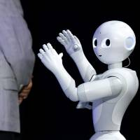 Robots can solve labor woes: Son