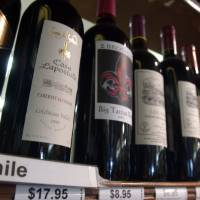 Imports of Chilean wine surge in Japan