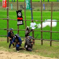 Shooting Demonstration by the Nagashino Shitaragahara Firearm Troops.