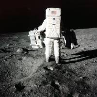 45 years after Apollo, U.S. split on lunar landings